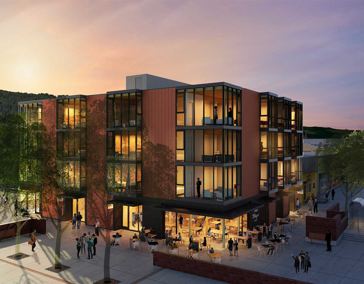 Central-Lofts-Portland-Aerial-rendering